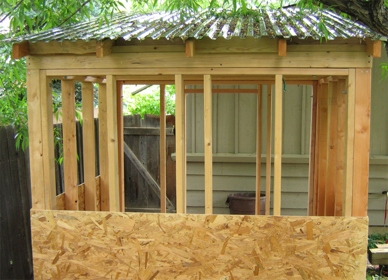 the boulder sauna sheathing roof how to build a. Black Bedroom Furniture Sets. Home Design Ideas