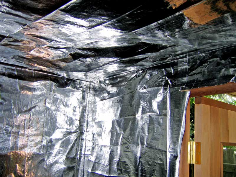The Boulder Sauna Insulation How To Build A Finnish